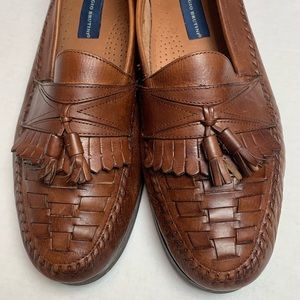 Men's Giorgio Brutini Brown Leather Loafer
